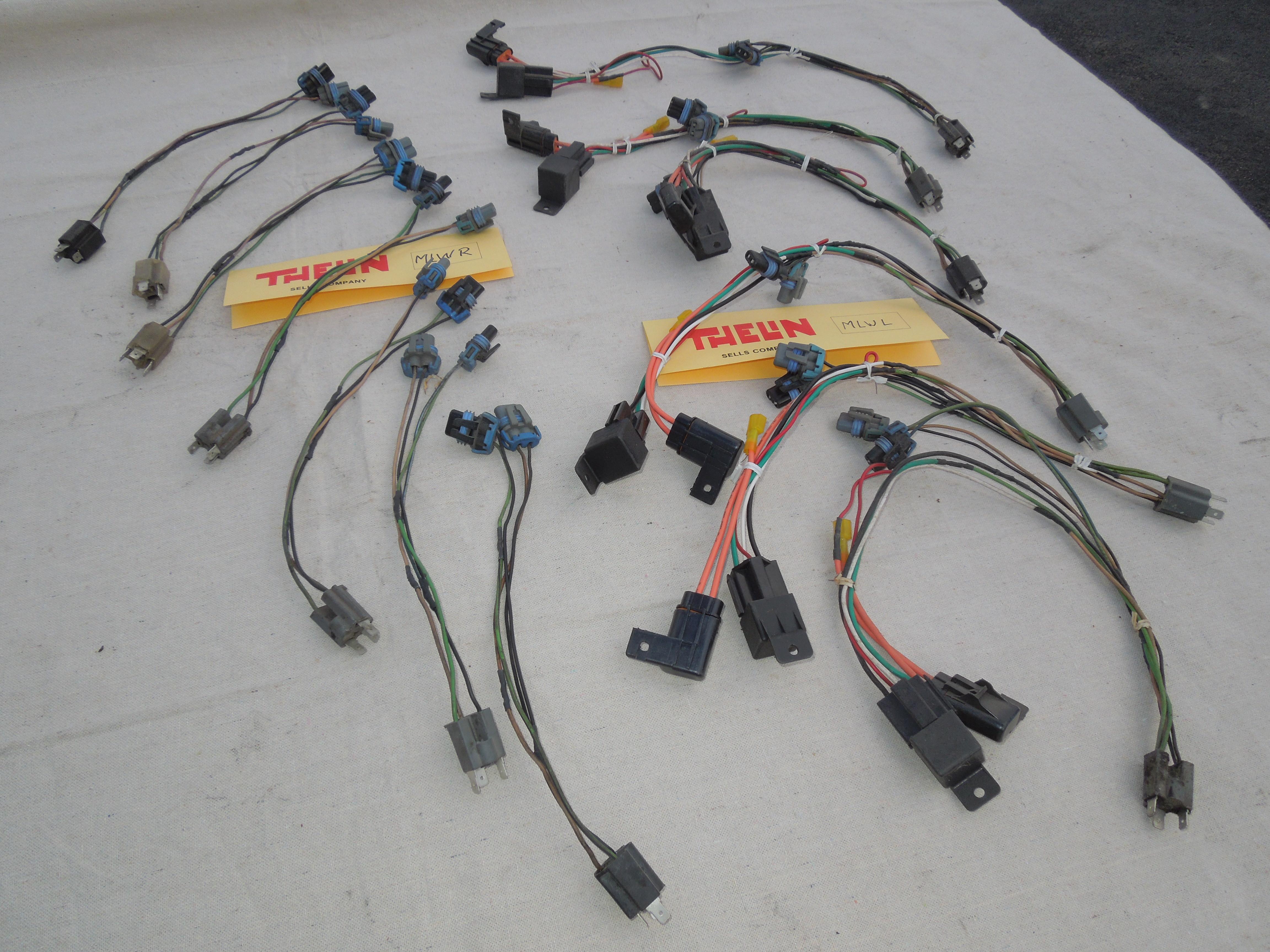 Sel Wire Harness Wiring Library Sportsman 500 Efi Diagram Polaris Needed Thelinsells Fiero Munson Left Mlwl 2500