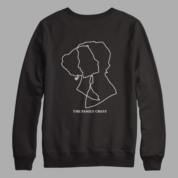 Abstract Lovers Crew Neck Sweatshirt