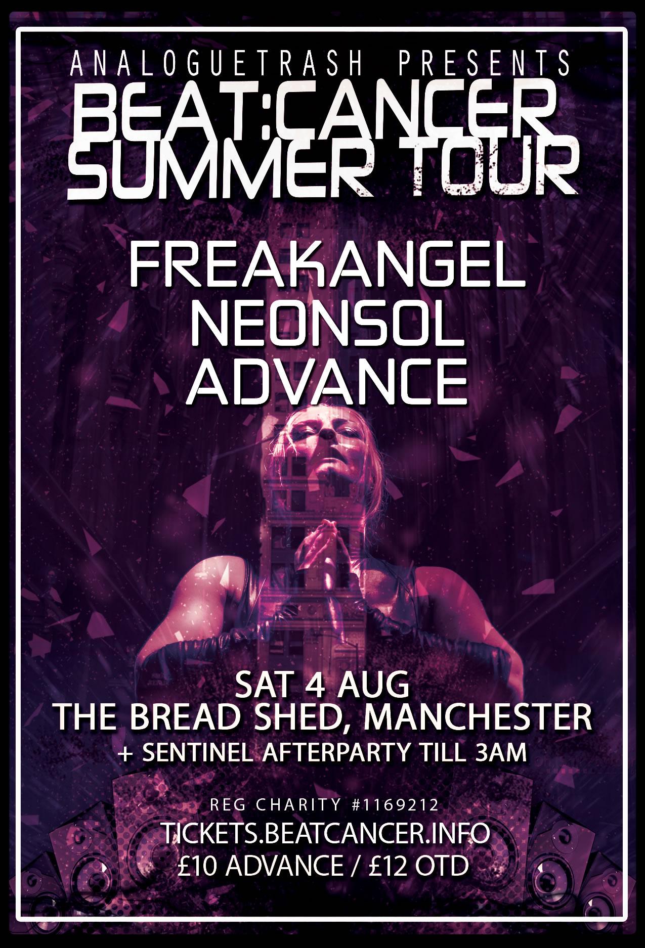 Beat:Cancer Summer Tour 2018: Manchester
