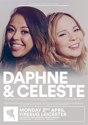 Daphne & Celeste, Colour Me Wednesday & Sunshine Frisbee Laserbeam