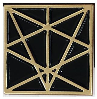 MAKE Logo Pentagram Enamel Pin