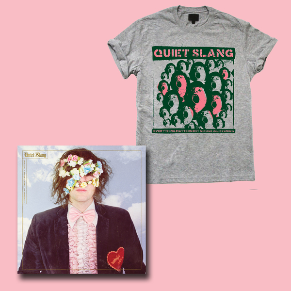 Beach Slang  – Everything Matters But No One Is Listening LP/CD and T-Shirt Bundle - PREORDER