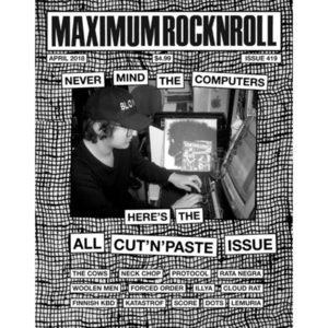 MAXIMUM ROCKNROLL #419 & back issues