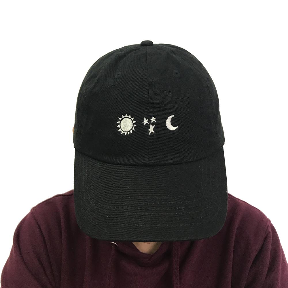 Sun Star Moon Hat
