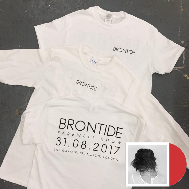 Brontide - Artery farewell shirt + CD
