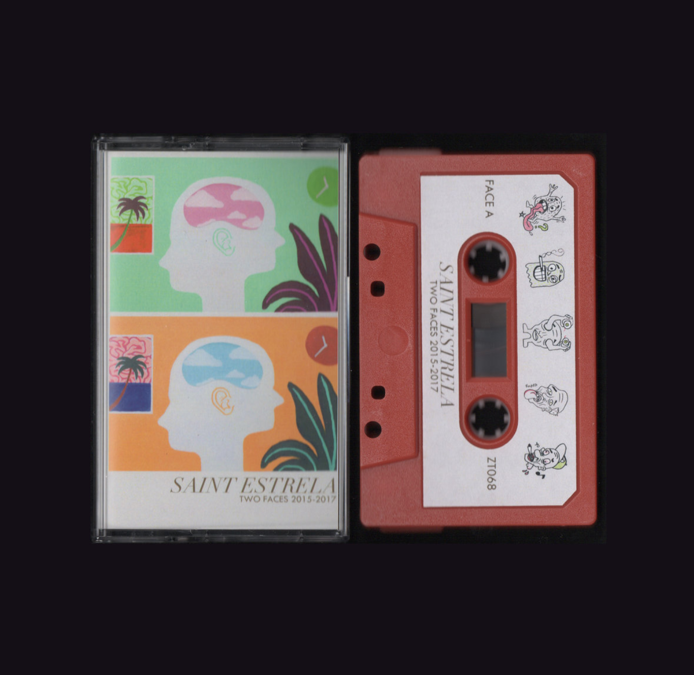 Saint Estrela - Two Faces 2015-2017 (Z Tapes)