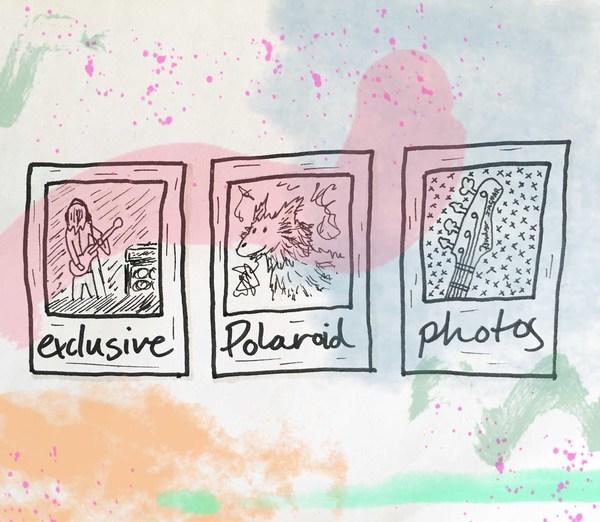 One of a Kind band Polaroids