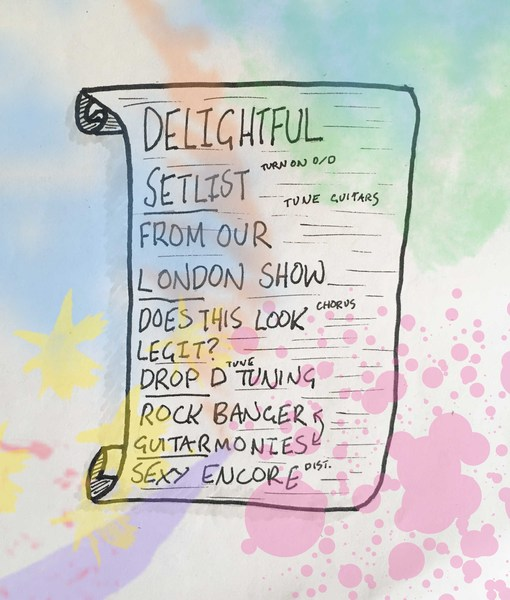 Signed Album Launch Set List!