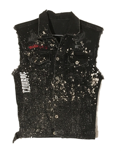 ARCHIVE- Rx Salvaged: Denim Motor Vest (M)
