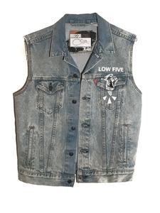 Levi's Denim Vest W/ Hands Repeat (S-2XL)