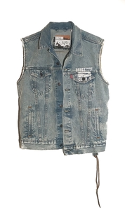 Levi's Denim Vest W/ Broken Vibes (S-2XL)