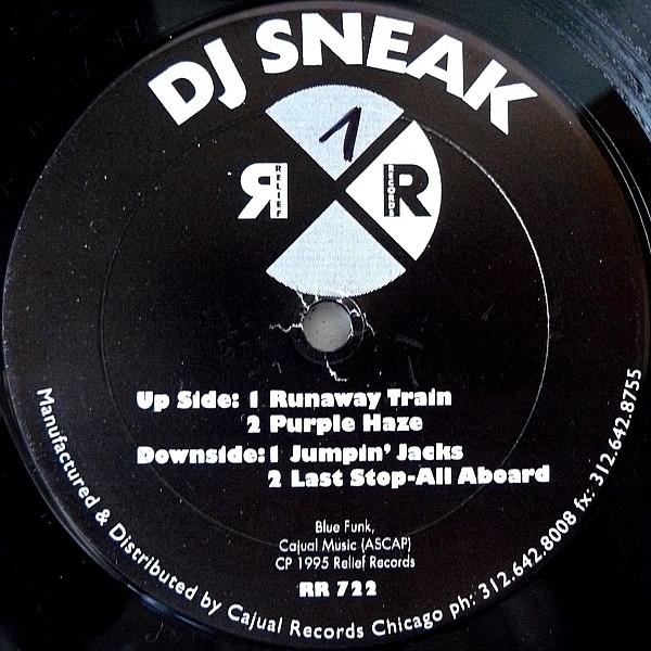 DJ Sneak – Blue Funk II (Relief Records)