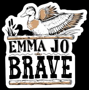 Brave Mallard Sticker