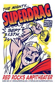 Poster-Red Rocks, 9/13/08