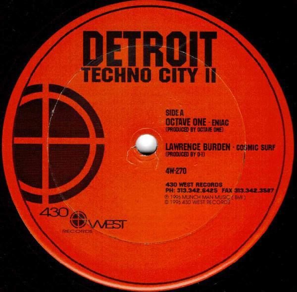 Various ‎– Detroit Techno City II (430 West)