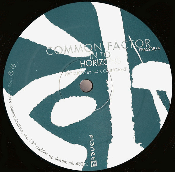 Common Factor ‎– Common Factor EP (Planet E)