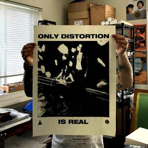 At the Heart of the World - Only Distortion is Real Poster