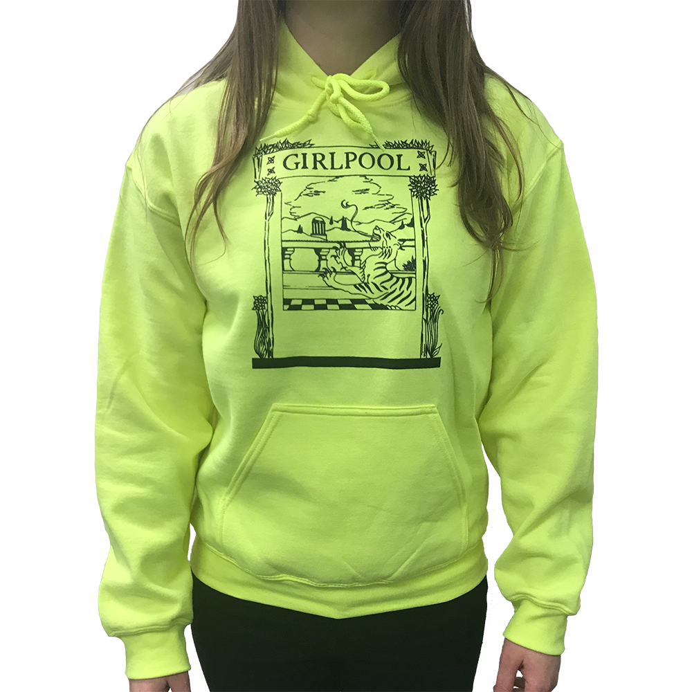 Tiger Hoodie (neon yellow)