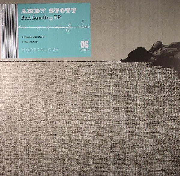 Andy Stott ‎– Bad Landing EP (Modern Love)