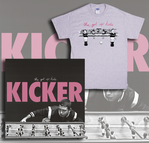 The Get Up Kids - Kicker EP/T-Shirt Bundle - PREORDER
