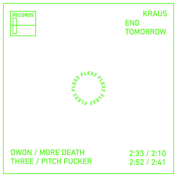 Kraus - End Tomorrow (Flexi-Disc)