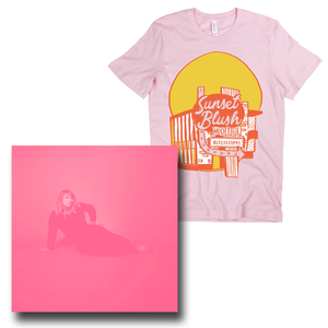 Kississippi - Limited Edition Sunset Blush Splatter LP + Motel Shirt - PREORDER