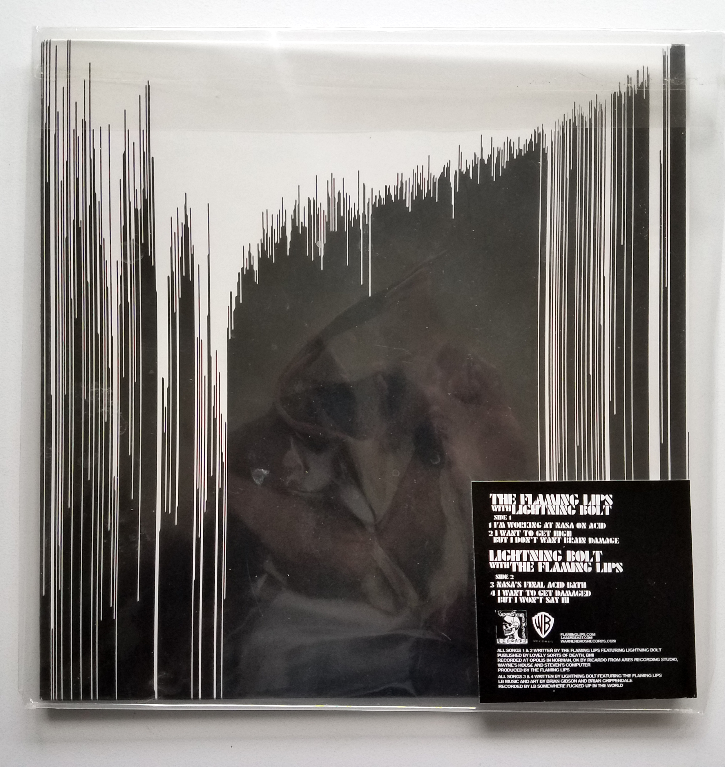 Flaming Lips / Lightning Bolt - Split 2xLP (Random color vinyl)