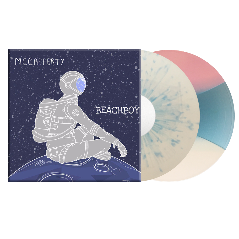 Astronaut Tee + BeachBoy Vinyl