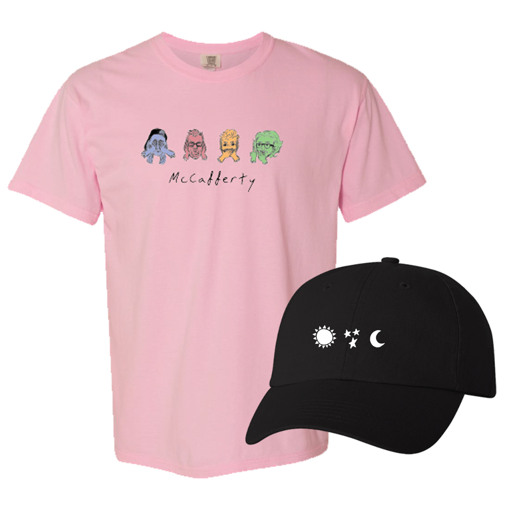 See No Evil Tee + Sun Star Moon Hat