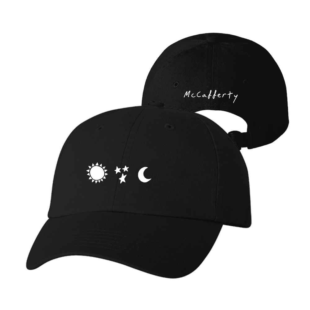 Astronaut Tee + Sun Star Moon Hat