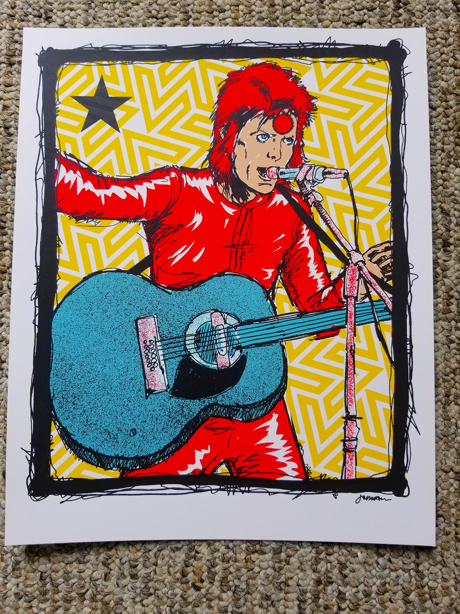*New* 'I'll Make You A Deal...' (Bowie) Art Mini-Print (ALL VARIANTS)