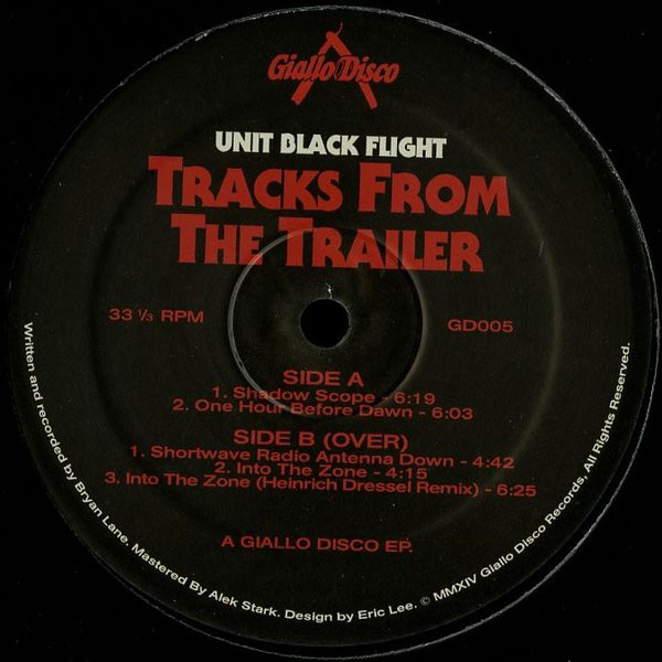Unit Black Flight ‎– Tracks From The Trailer (Giallo Disco)