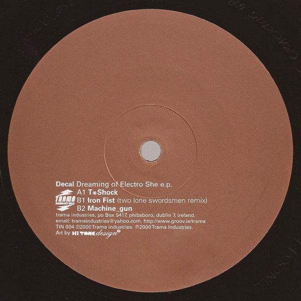 Decal ‎– Dreaming Of Electro She e.p. (Trama Industries)