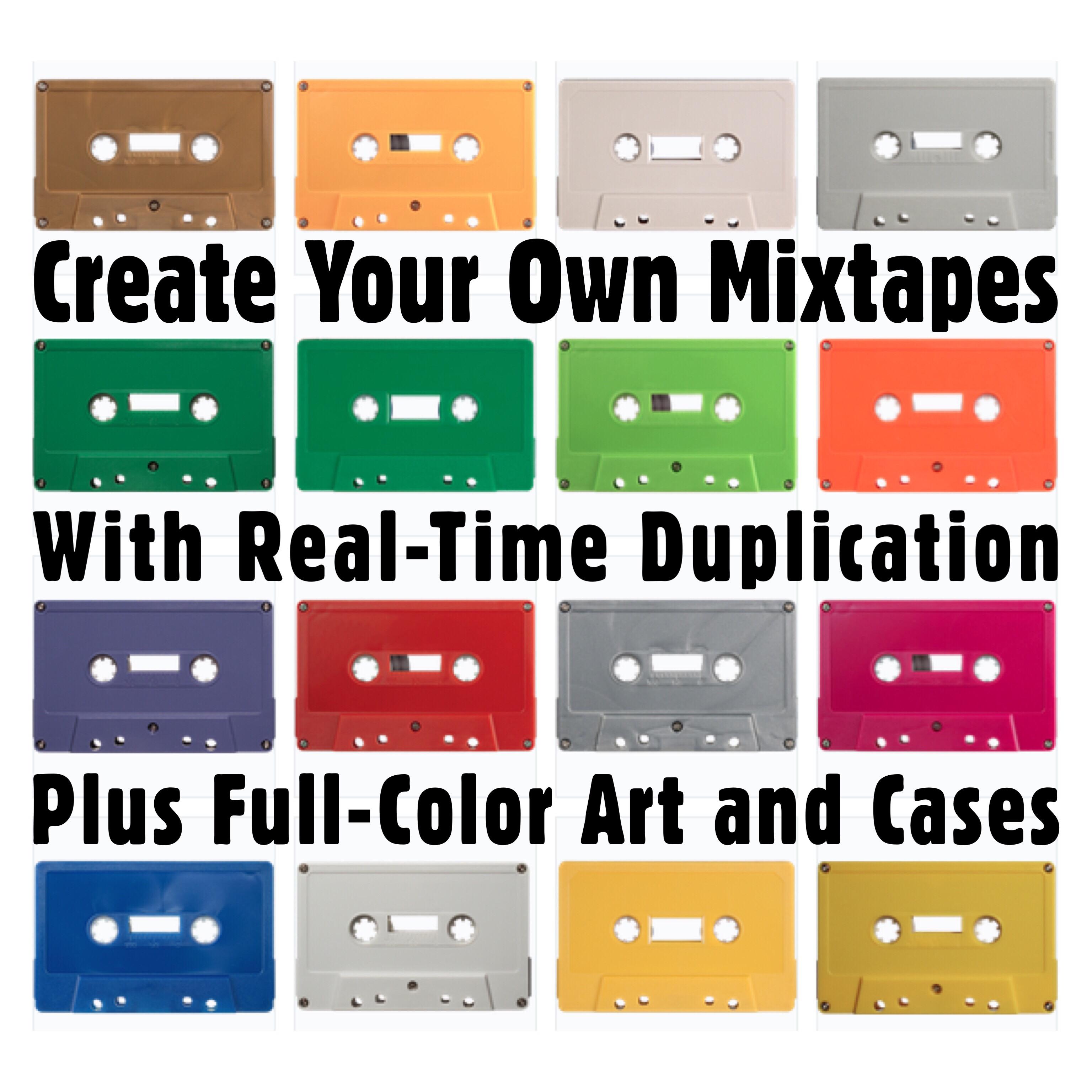 Create Your Own Custom Mixtape