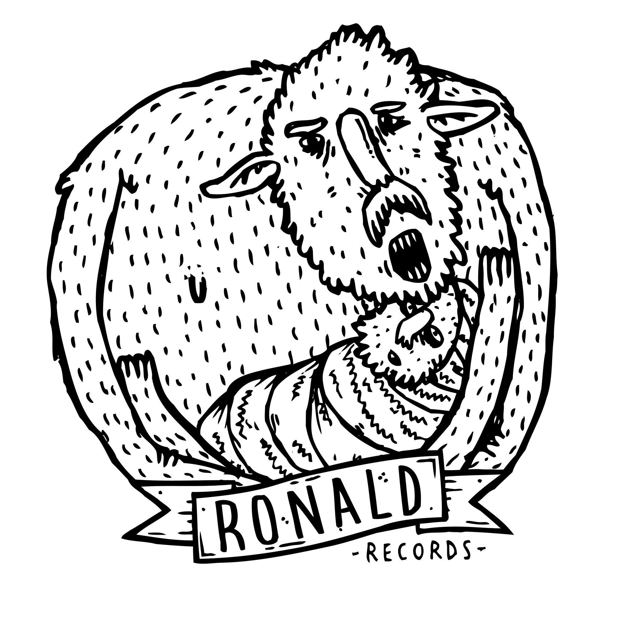 Ronald Records - Enamel Pin + Patch