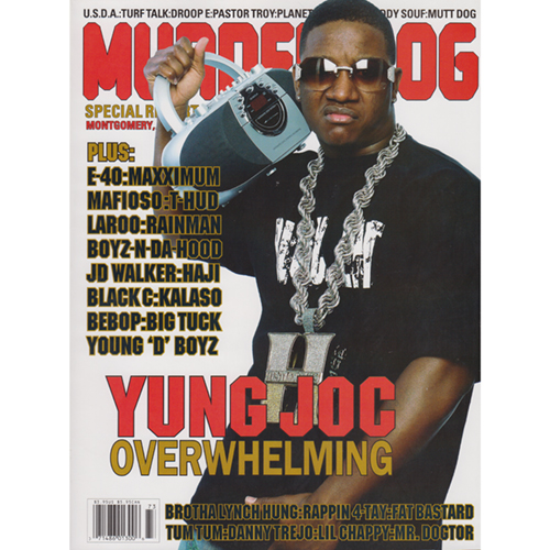 Murder Dog Magazine Volume 14, Number 3 (Yung Joc Cover)