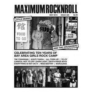 MAXIMUM ROCKNROLL #420 & back issues