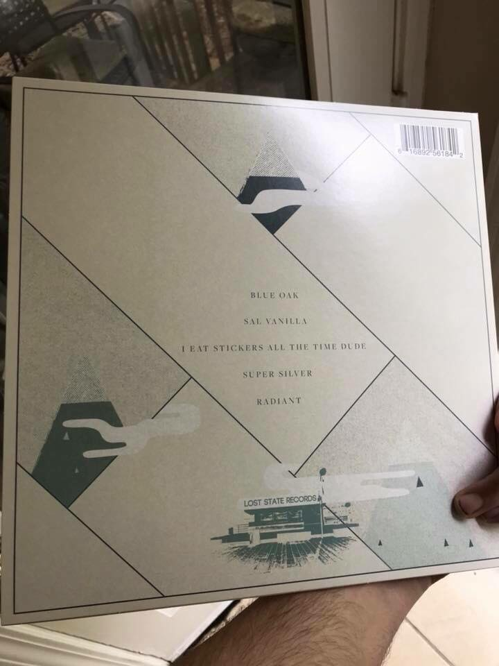 Champagne Colored Cars EP - Single sided 12