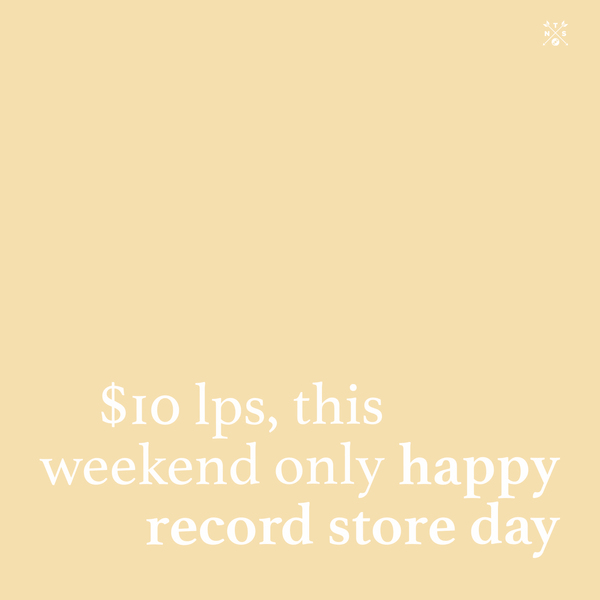$10 Vinyl – Record Store Day