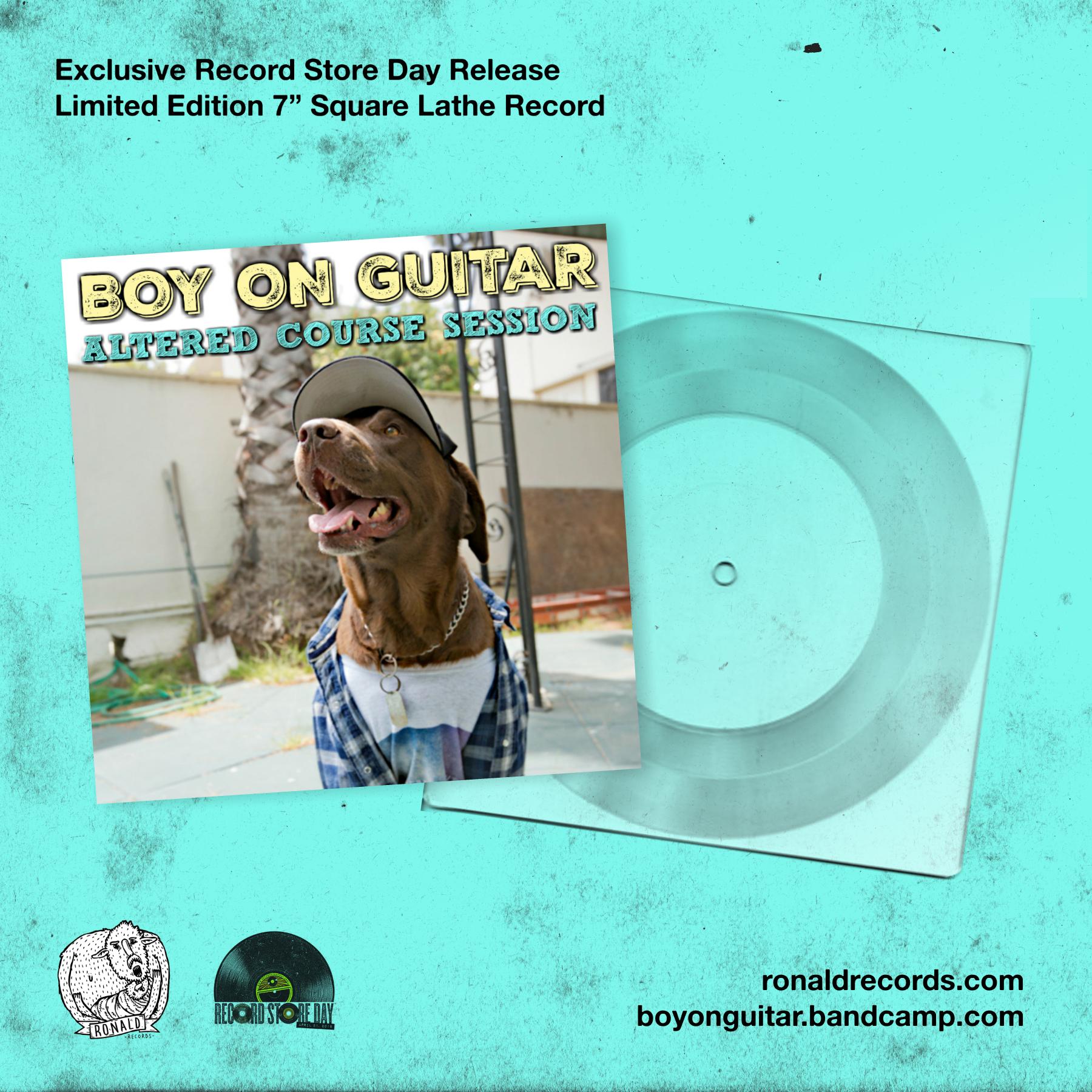 Boy On Guitar -