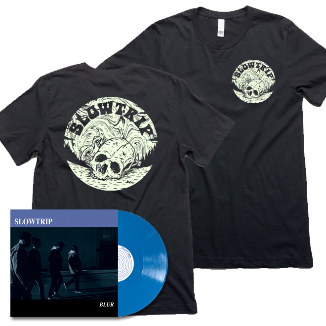 SLOWTRIP - VINYL (Blue) & Shirt