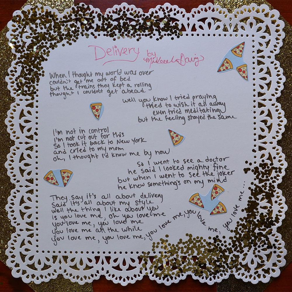 Handwritten Lyrics + Delivery Download