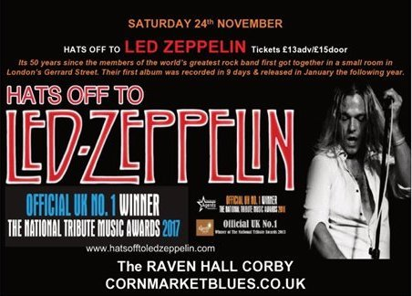 Hats Off To Led Zeppelin (18+ age limit)