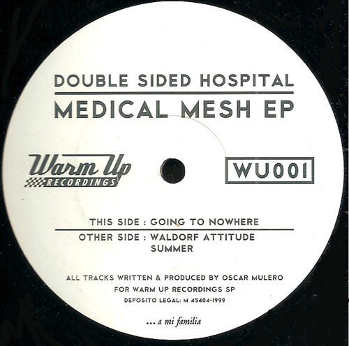 Double Sided Hospital ‎– Medical Mesh EP (Warm Up Recordings)