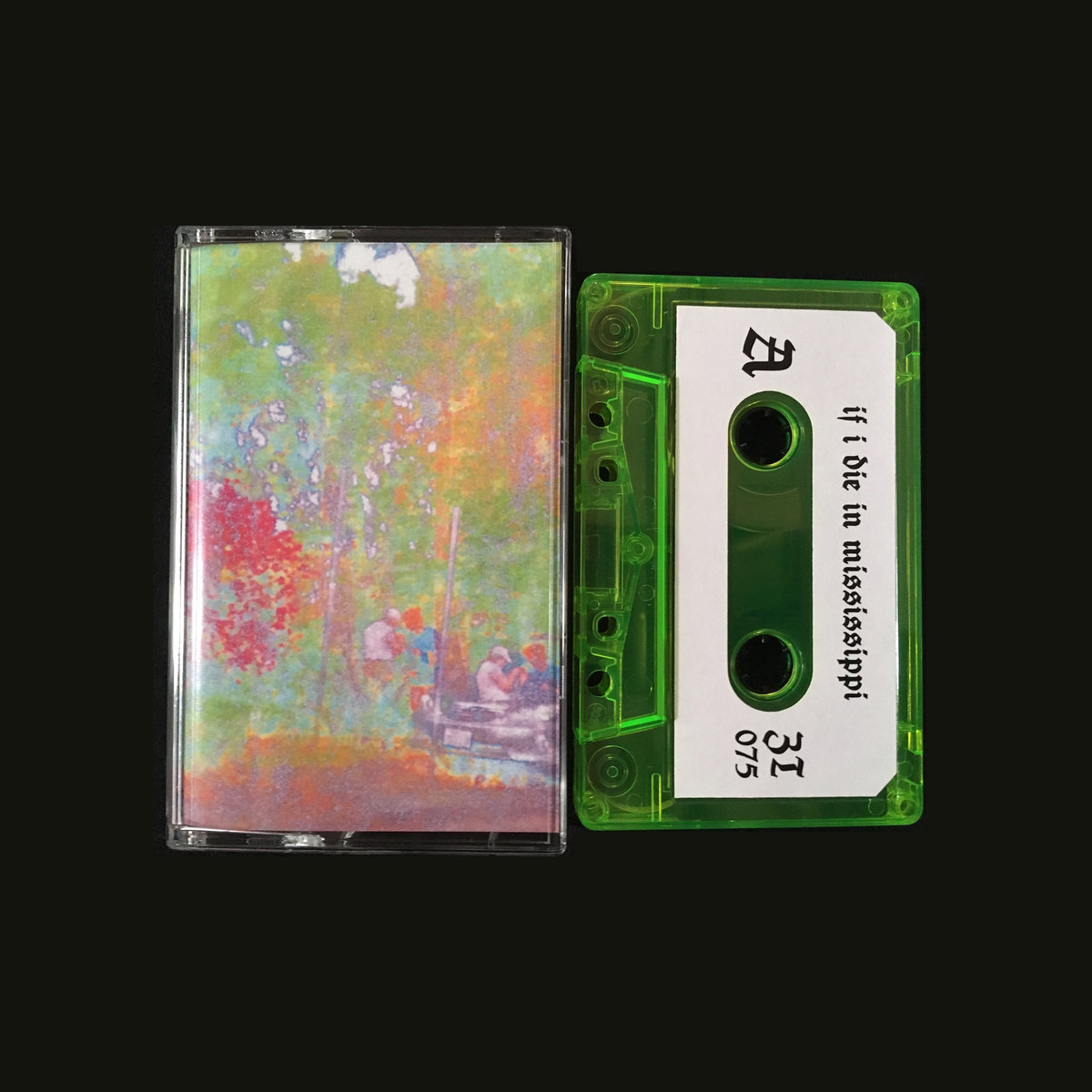 [SOLD] if i die in mississippi - holographic heartache (Z Tapes)
