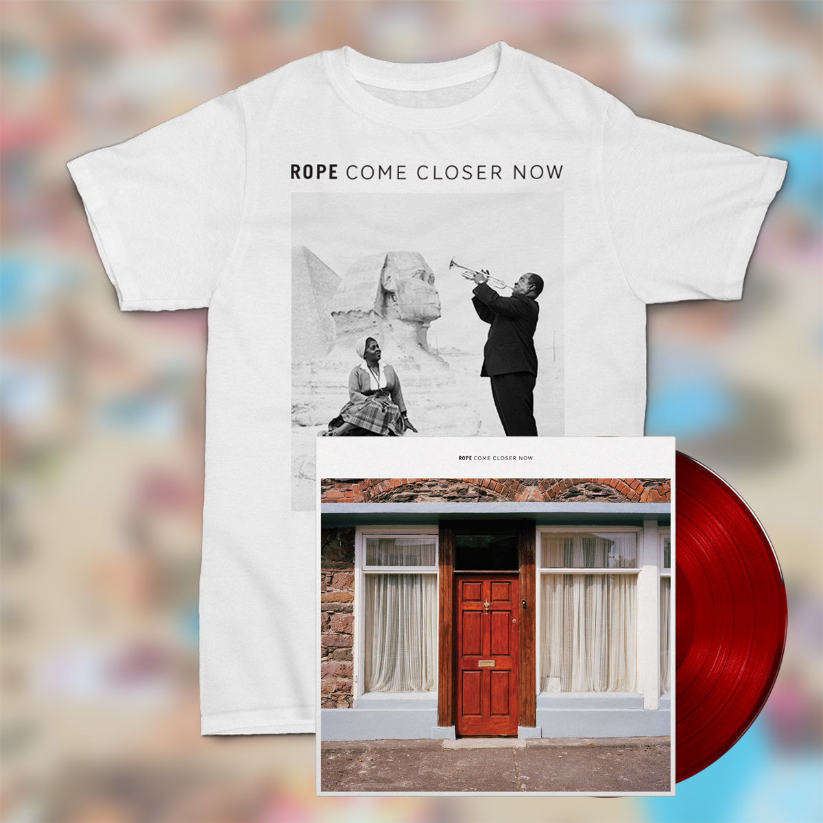 Rope LP & shirt bundle
