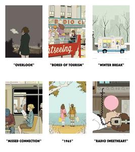 Adrian Tomine Framed Prints