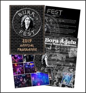 Bur Fest 2019 Event Programme