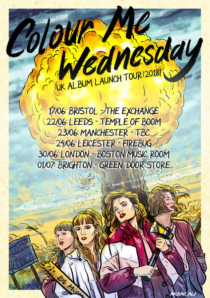 Colour Me Wednesday Album launch show - BRIGHTON!
