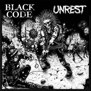 Black Code / Unrest - Split LP